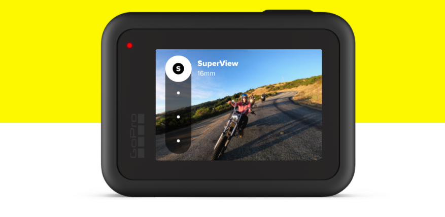 image and video quality gopro hero8 black