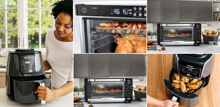 Gourmia vs Ninja Air Fryer and Toaster Ovens Comparison