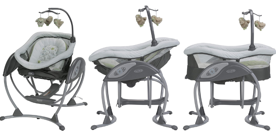 graco duoglider reclining positions