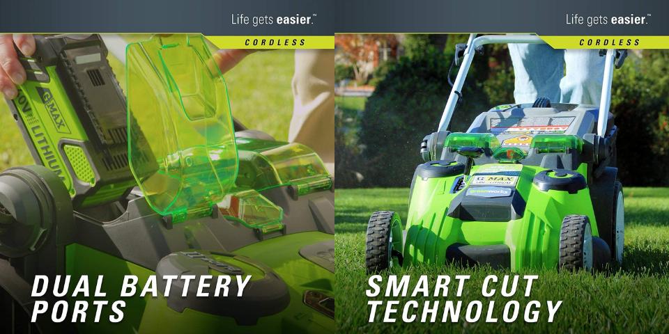 greenworks vs ryobi lawn mower cut quality