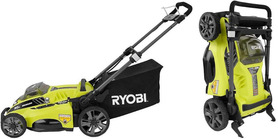 greenworks vs ryobi lawn mower handling