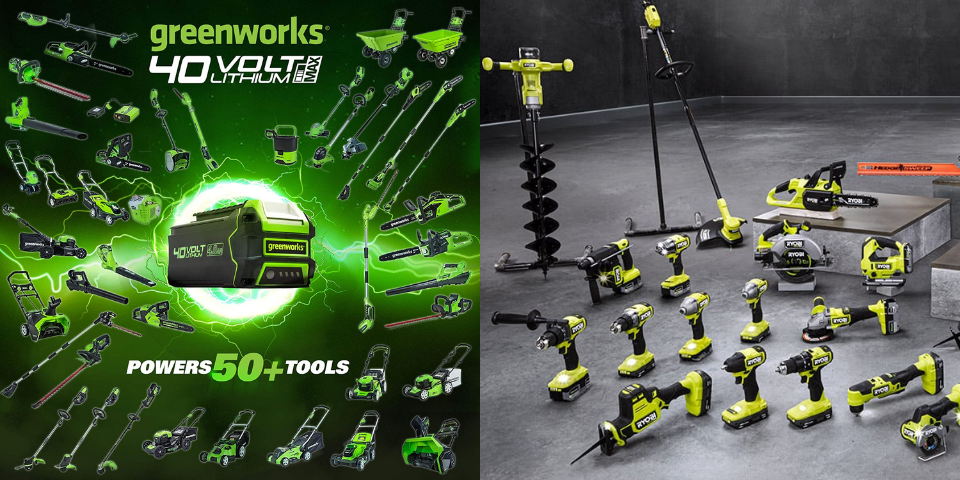 greenworks vs ryobi lawn mower maintenance