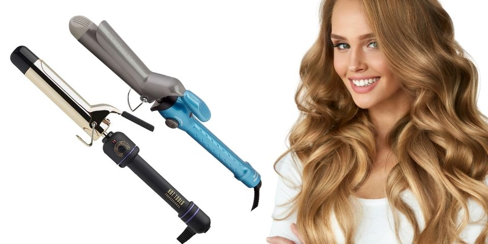 Styling Performance of the two curling irons
