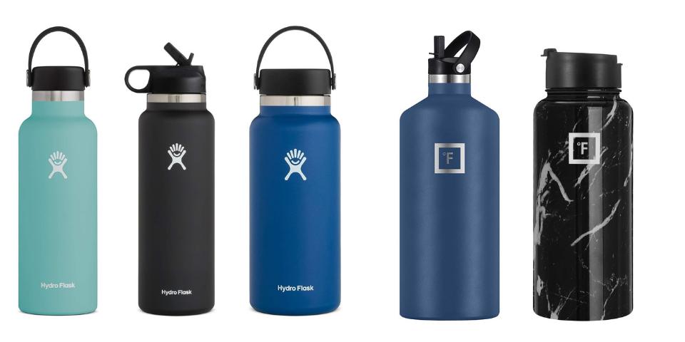 hydro flask vs iron flask design