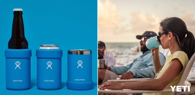 Hydro Flask vs Yeti Tumbler for Wine and Beer