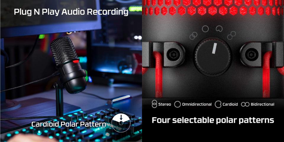 hyperx solocast vs quadcast features