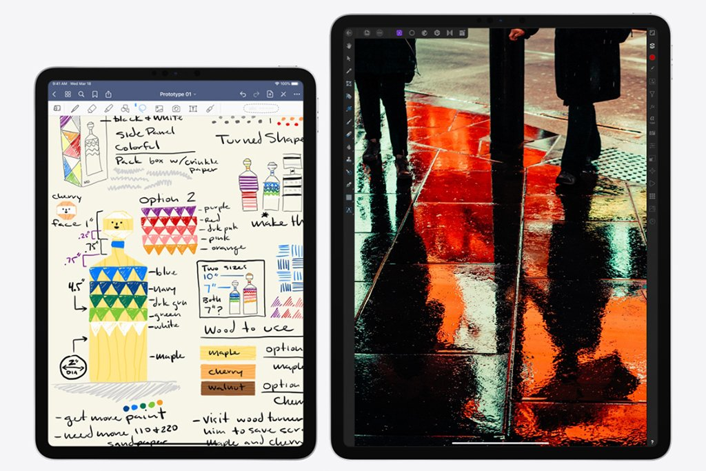 iPad 11 vs 12.9 - iPad Pro 2020 Design