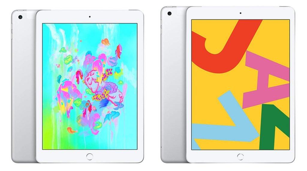 iPad 6th vs 7th Generation Design