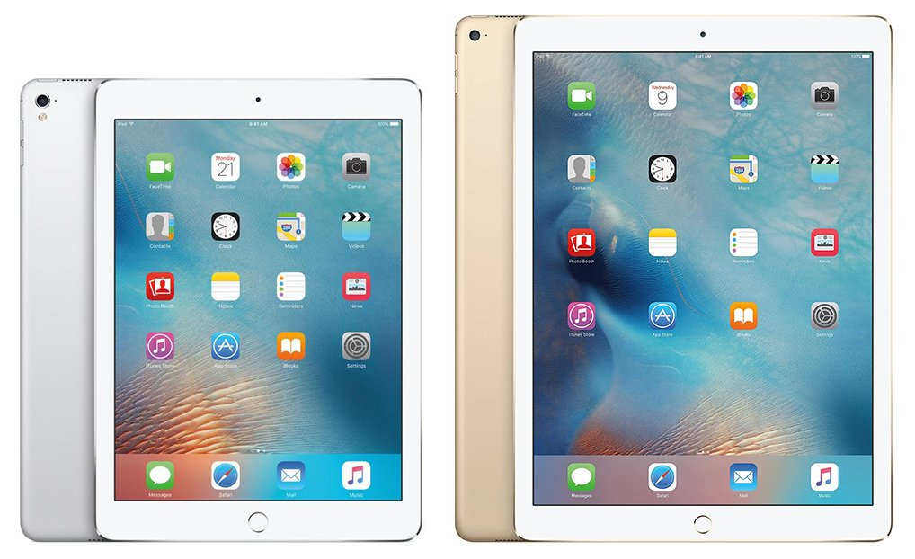 iPad 9.7 vs 12.9 - Original iPad Pro Design