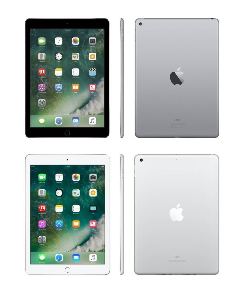 iPad Air 2 vs iPad 2017 Design