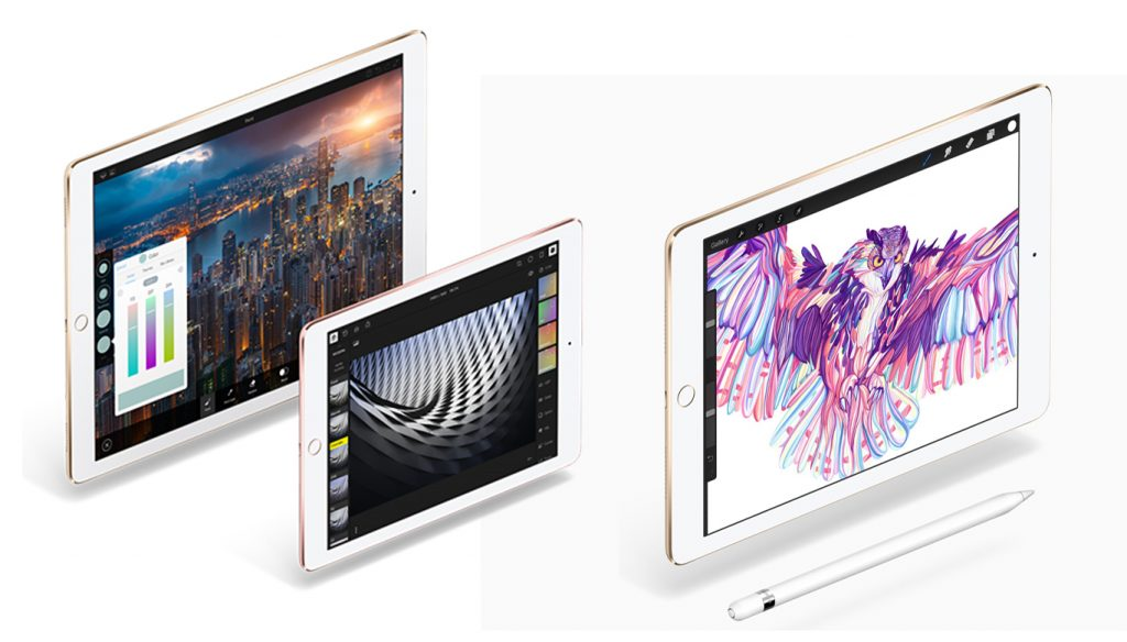 iPad Pro 9.7 vs Air 2 Display
