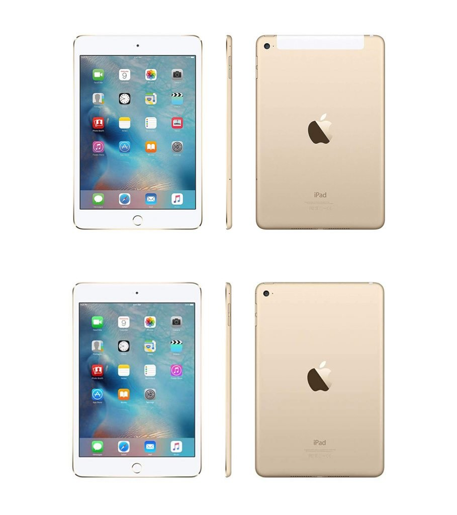 iPad mini 3 vs 4 Physical Differences