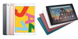 iPad vs Kindle Fire HD 10 (iPad 7th Gen) Comparison