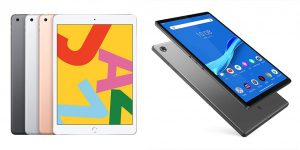 Apple iPad vs Lenovo Tablet (iPad 7th Gen vs Lenovo Tab M10 Plus)