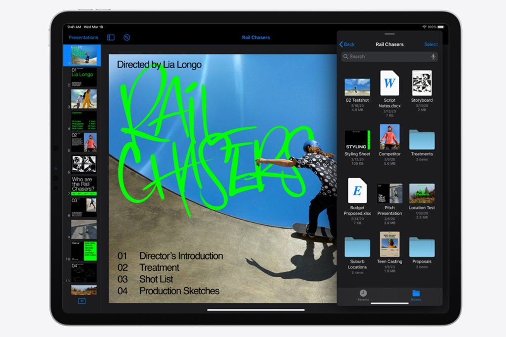 iPad vs Surface Pro 7 (iPad Pro 2020) Cameras and Storage