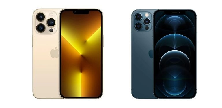 iPhone 13 Pro vs 12 Pro design