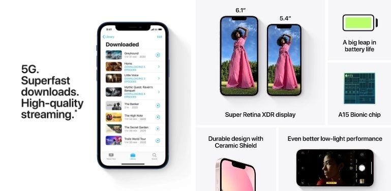 iPhone 13 vs 12 performance
