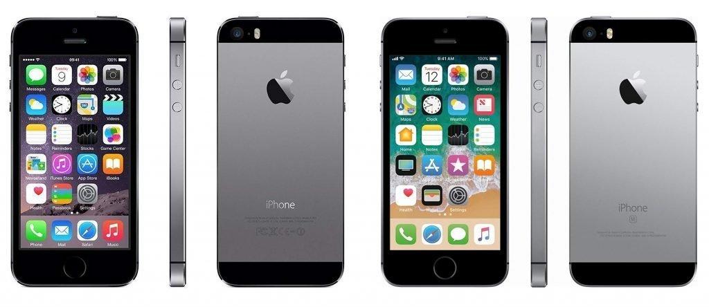 iPhone 5s vs iPhone SE Design