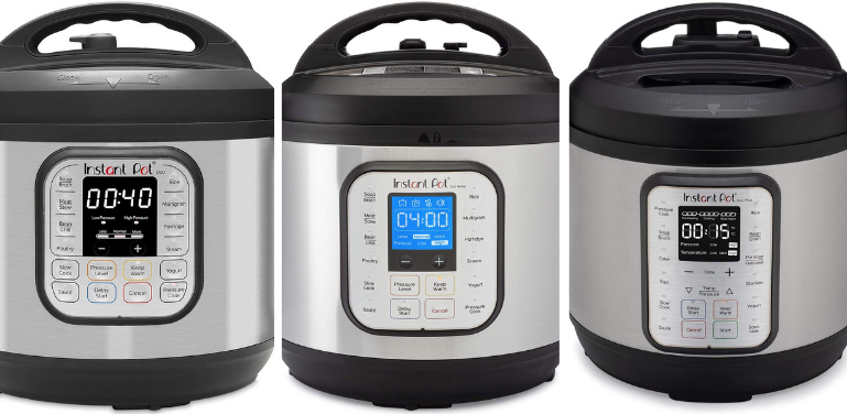 instant pot duo vs duo nova vs duo plus