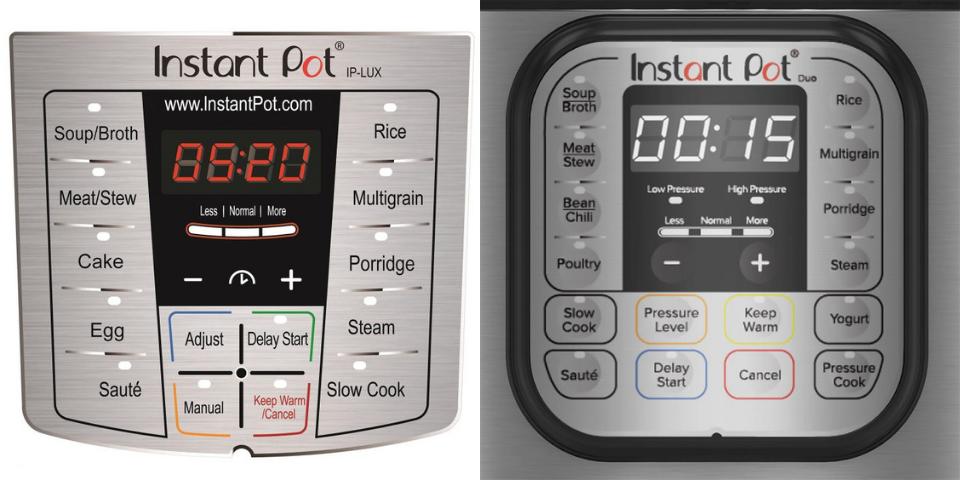 instant pot lux vs duo features