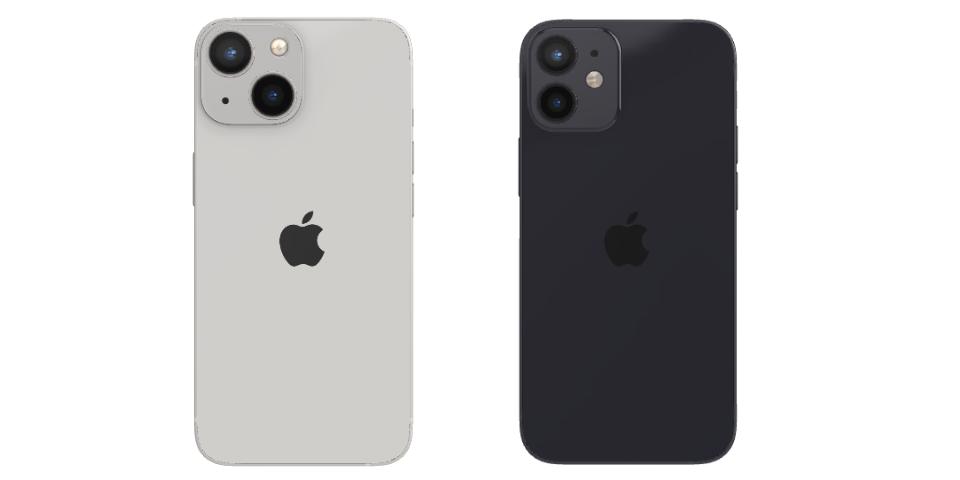 iphone 13 mini vs 12 mini camera