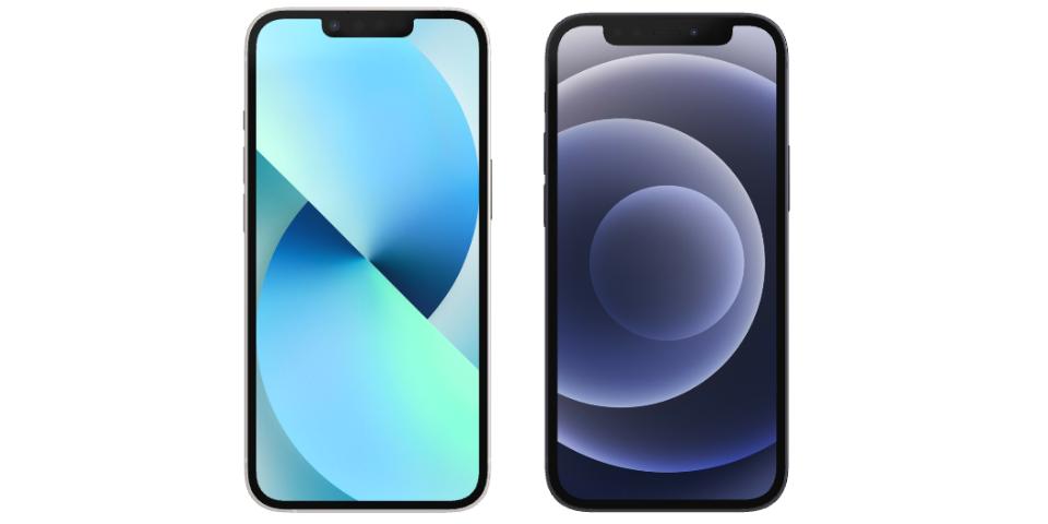 iphone 13 mini vs 12 mini display