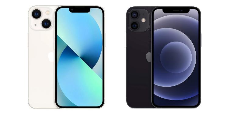 iphone 13 mini vs 12 mini
