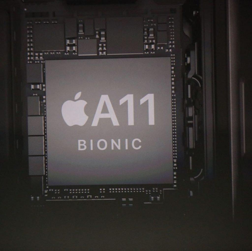 iphone x processor