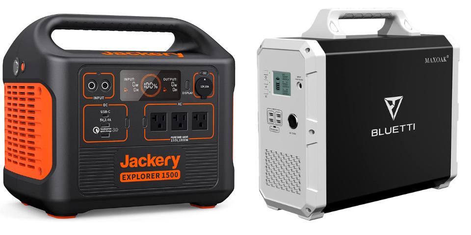 jackery explorer 1500 vs bluetti eb150