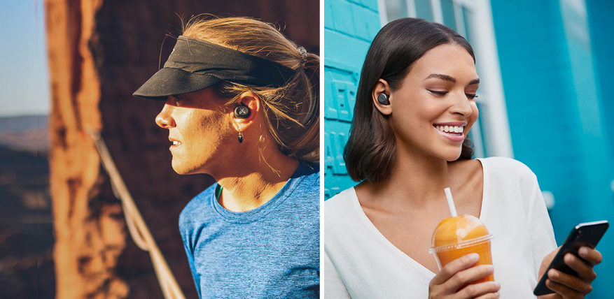jaybird vista vs jabra 75t true wireless earbuds