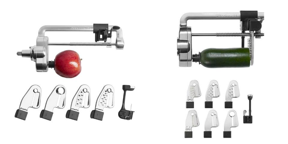 KitchenAid Spiralizer vs Spiralizer Plus Attachments and Performance