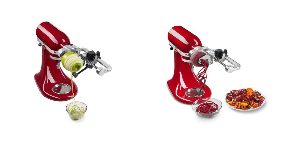 KitchenAid Spiralizer vs Spiralizer Plus Design and Build Quality
