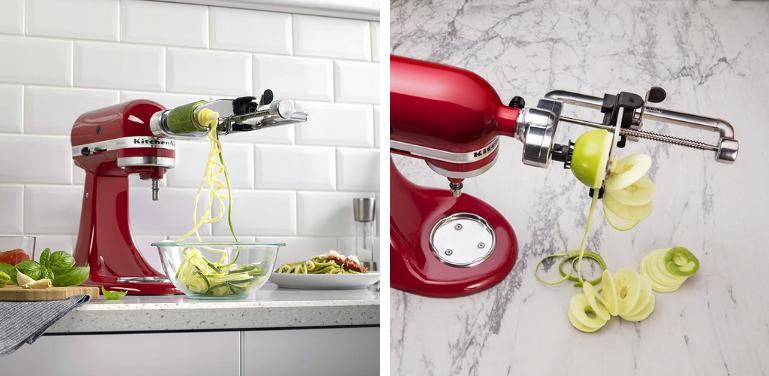 KitchenAid Spiralizer vs Spiralizer Plus