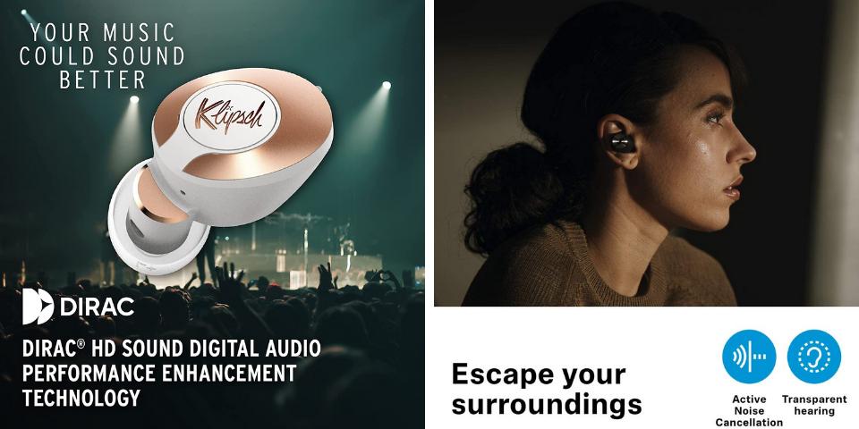 Klipsch T5 II vs Sennheiser Momentum True Wireless 2 Sound and Noise Cancellation