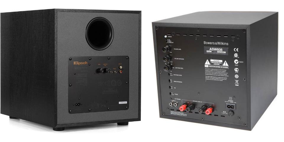 klipsch vs b&w setup and controls