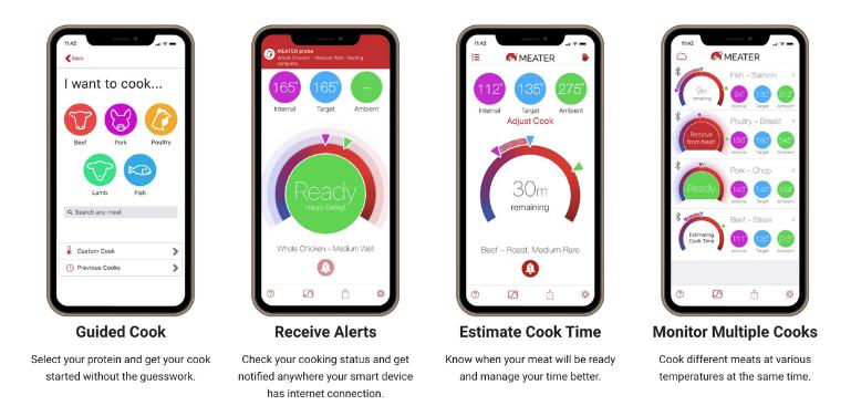 Meater vs Meater Plus vs Meater Block Mobile App