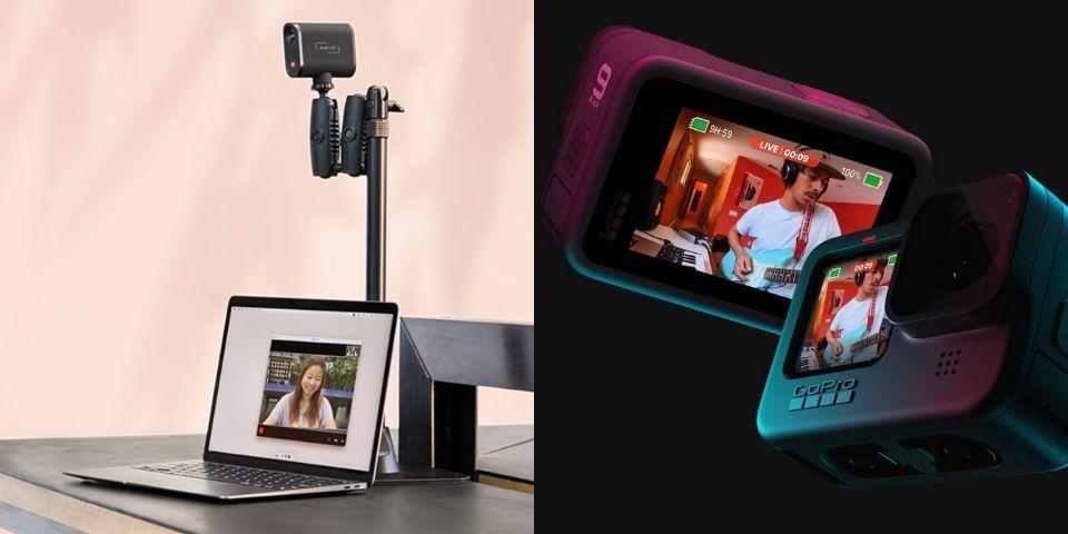 Mevo Start vs GoPro HERO 9 Live Stream