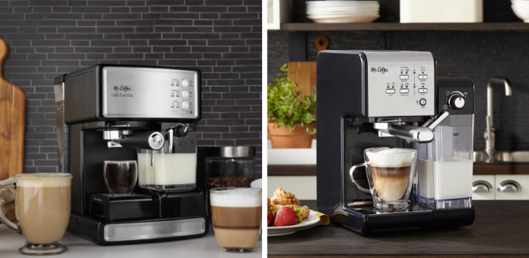 mr coffee cafe barista vs one touch