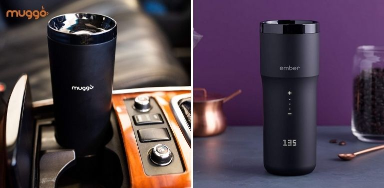 Muggo vs Ember Smart Travel Mug