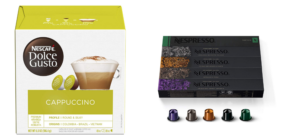 Nescafe Dolce Gusto vs Nespresso Other Features