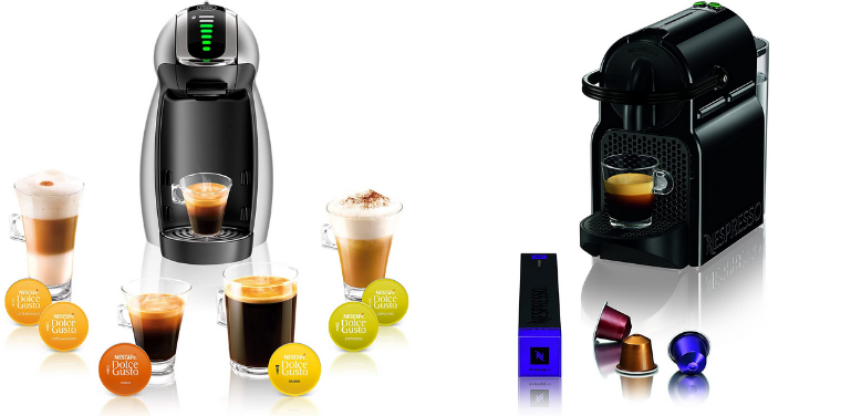 Nescafe Dolce Gusto vs Nespresso