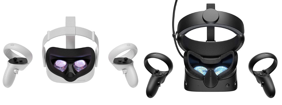 oculus quest 2 vs rift s hardware and performance