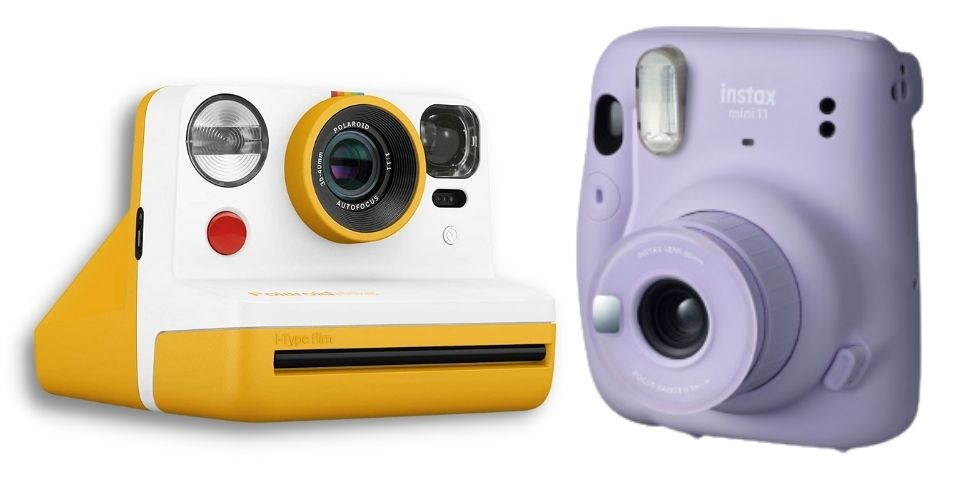Polaroid Now vs Instax Mini 11 battery and charging