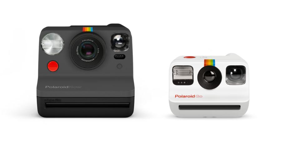 polaroid now vs polaroid go design