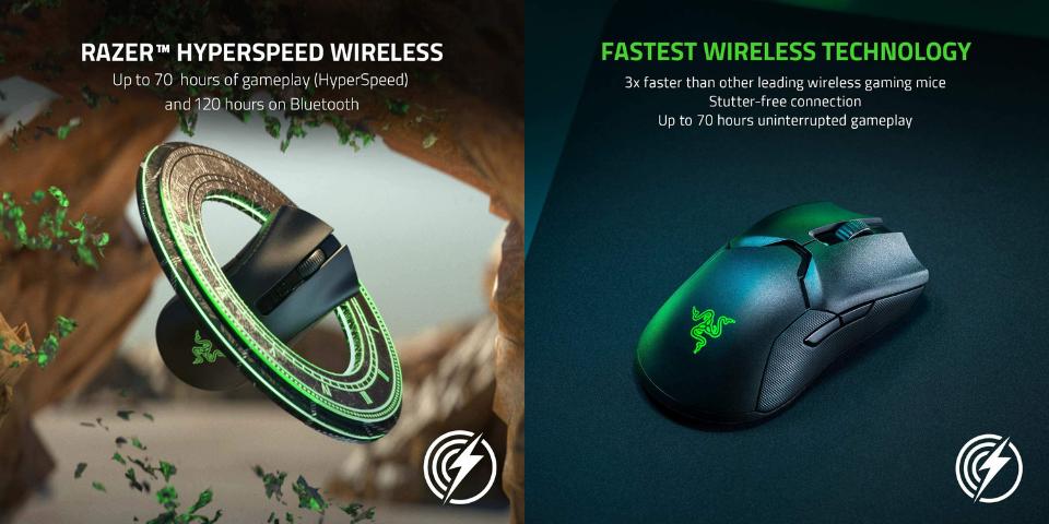 razer deathadder v2 pro vs viper ultimate battery life