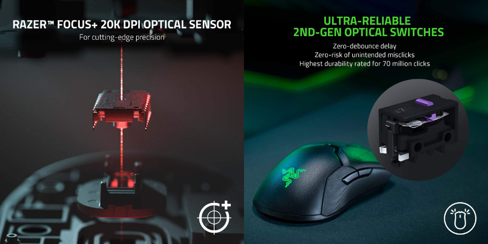 razer deathadder v2 pro vs viper ultimate features and connectivity