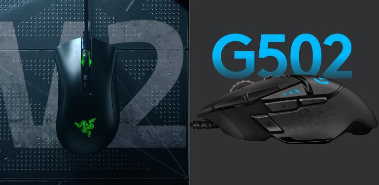 razer deathadder v2 vs logitech g502
