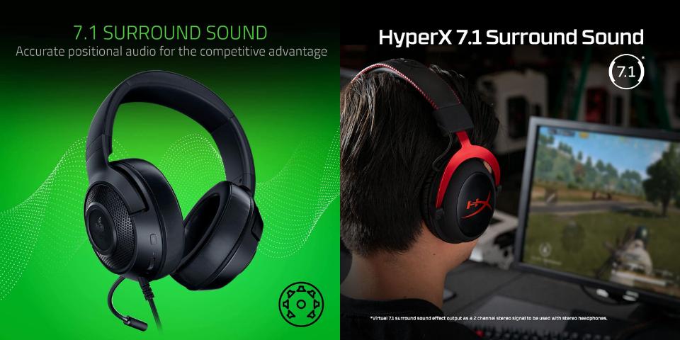 razer kraken x vs hyperx cloud 2 sound quality