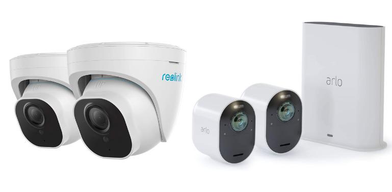 Reolink vs Arlo 4K Outdoor Cameras