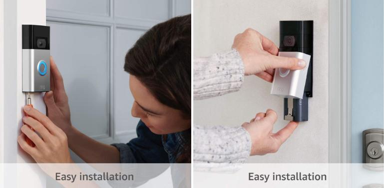 Ring Video Doorbell 2020 vs Ring Video Doorbell 3 Installation, Setup and Power